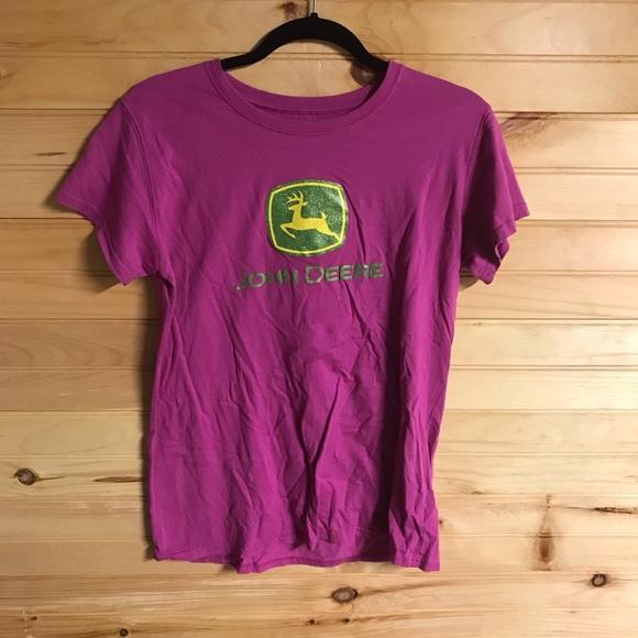 John Deere Other - Pink John Deere shirt